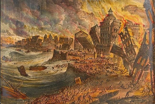 Lisbon Burning