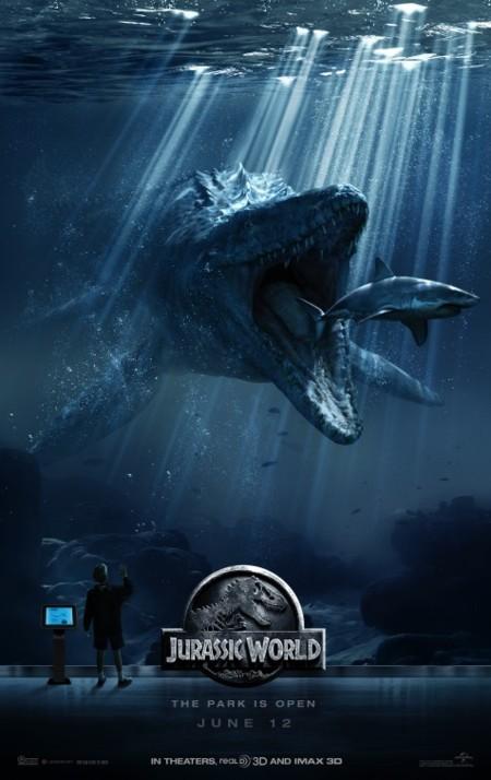 Nuevo cartel de Jurassic World con otro gigantesco dinosaurio