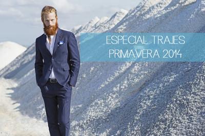 Especial trajes primavera 2014: azules para los más clásicos