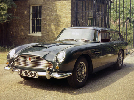 Aston Martin Db5 Vantage Shooting Brake By Harold Radford