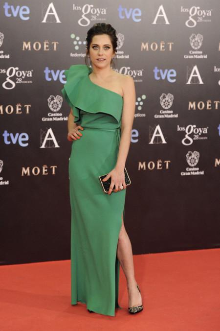 María León peor vestidas Goya 2014
