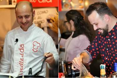 Las propuestas de salmón de Joaquín Felipe y los cócteles de Ramón Parra presentan el II Campeonato Demos la vuelta al día