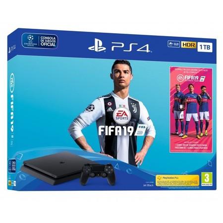 PlayStation 4 Slim de 1TB, con el juego FIFA 19, a su precio mínimo en Amazon: 249,99 euros