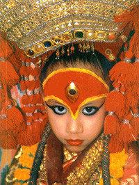 Nepal: La diosa Kumari y las fiestas de Indra Jarta