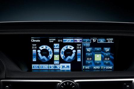 Lexus GS450h Climate Control
