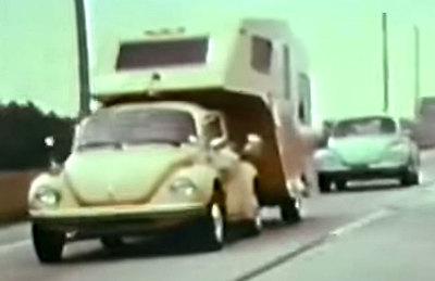 La mejor caravana para hacer maniobras tiene más de 40 años