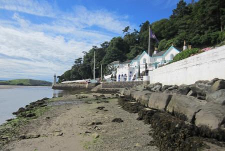 La sorpresa de Portmeirion, una villa italiana en la costa de Gales