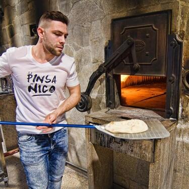 ¿Pizza gallega? El italiano de madre ourensana que está reinventando la pinsa en los dominios del pan de Cea