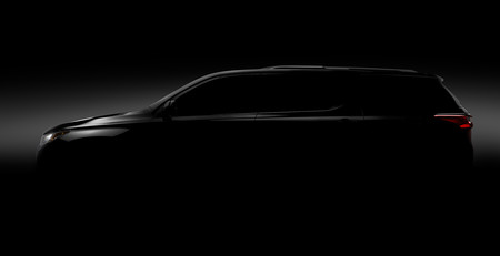 La nueva generación de Chevrolet Traverse también estará en el Auto Show de Detroit