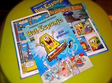 Ya están aquí los cómics de Bob Esponja