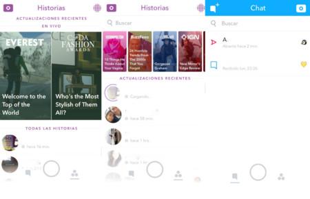 Snapchat rediseña su aplicación y lanza una opción de suscripciones a Discover