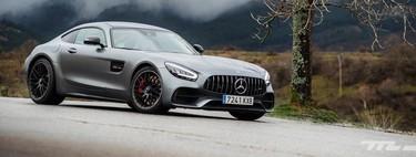 Probamos el Mercedes-AMG GT C: un deportivo de 557 CV a caballo entre el equilibrio y la visceralidad