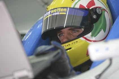 Andy Soucek completará la temporada de la GP2