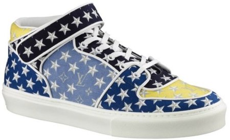 Zapatillas Louis Vuitton Acapulco Monogram Stars In Canvas