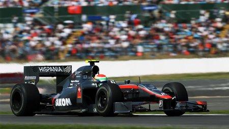 GP de Gran Bretaña 2010: HRT ocupará la última fila, relativamente cerca de Virgin