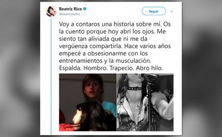 El problema de Beatriz Rico no ha sido la creatina, sino el mal uso que ha hecho de ella