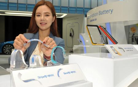 Así son las baterías flexibles de Samsung que pueden revolucionar los wearables