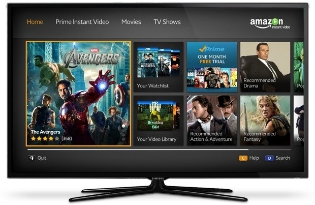instant vídeo en televisores Samsung