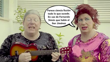 'Vaya un añito', la nueva parodia de Los Morancos que resume este caótico 2020 con mucha gracia