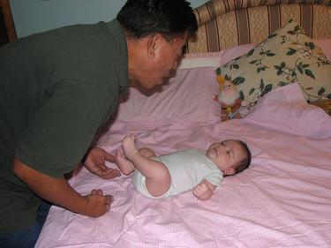 La etapa del balbuceo en el niño