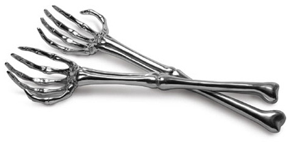 Tenedores esqueletos