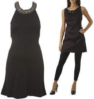 Mini vestido negro: ¿Penélope y Mónica Cruz para Mango o Kate Moss para TopShop?