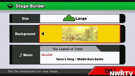 Super Smash Bros para Wii U nos muestra su editor de niveles