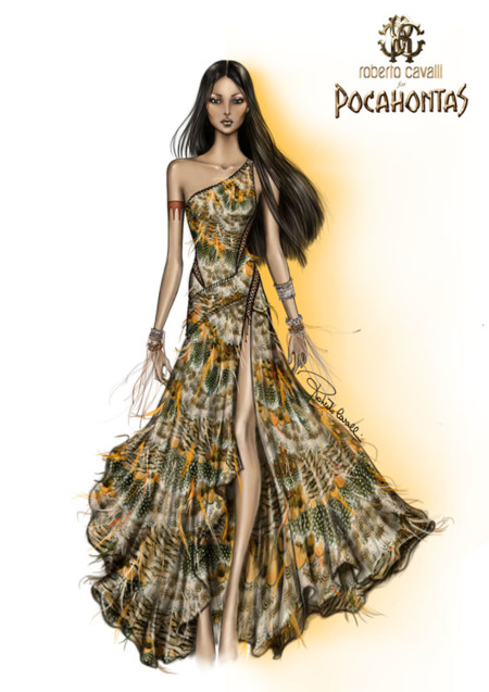 Pocahonta by Roberto Cavalli