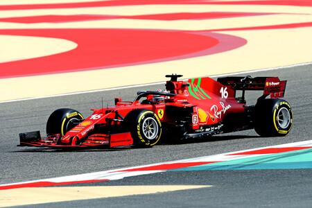 Leclerc Sakhir F1 2021 2