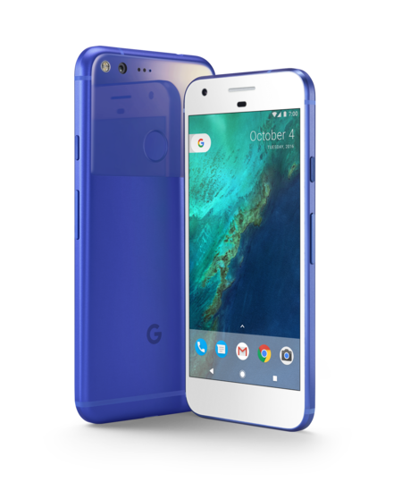 Pixel Azul
