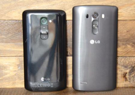 LG G3 y LG G2