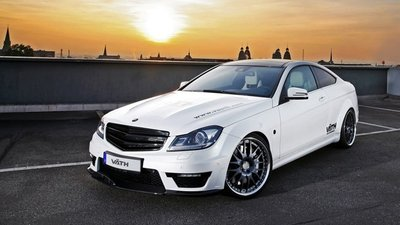 Väth Mercedes-Benz C63 AMG Coupé Supercharged