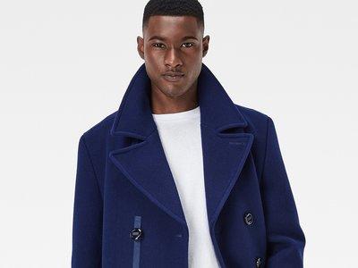 Wool Pea Coat de G-Star, el chaquetón marinero con estilo propio