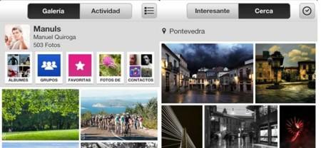 Flickr para iPhone