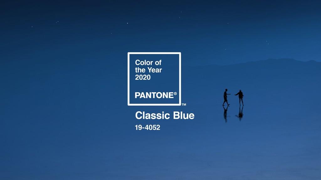 Intemporal y simple: así es Classic Blue, el color del año de Pantone para el 2020