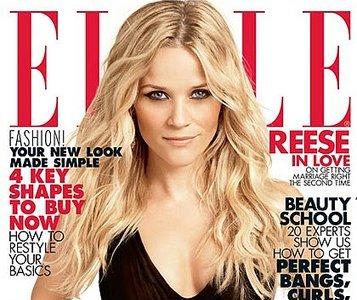 Reese Witherspoon en la portada de Elle USA