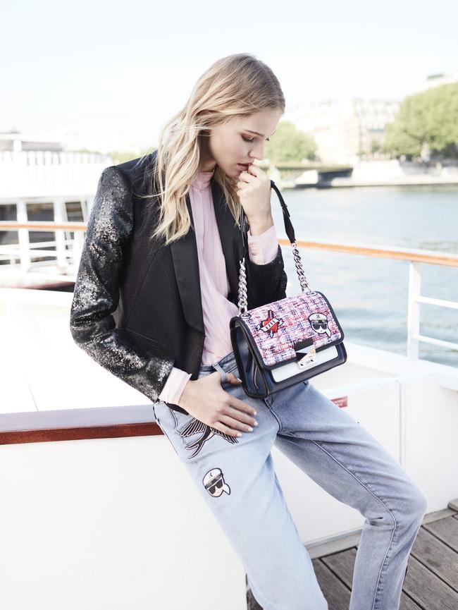 Karl Lagerfeld Ss18 Look 18