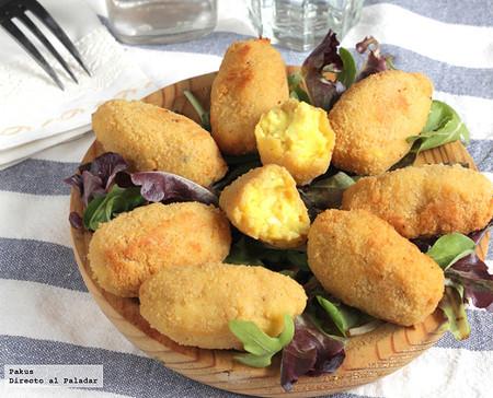 Croquetas de Pollo al curry