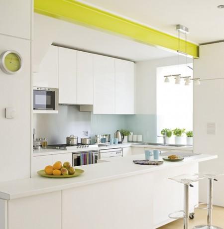 Cocinas peque as colores y acabados para dar sensaci n de - Ejemplos cocinas pequenas ...