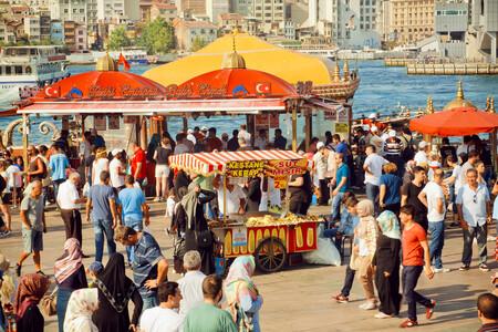 Comida callejera en Turquía