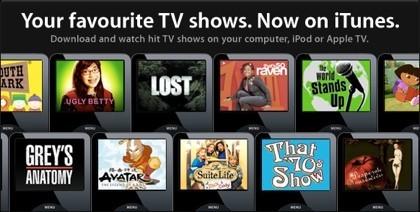 Apple anuncia la publicación de series de televisión en la iTunes Store del Reino Unido