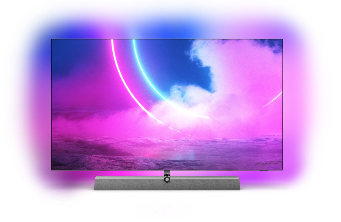 """TV OLED 165 cm (65"""") Philips 65OLED935/12 UHD 4K con Inteligencia Artificial, Ambilight 3, Android TV"""
