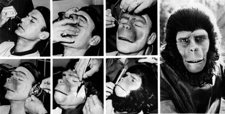 Roddy Mcdowall Planet Of The Apes Makeup 1974