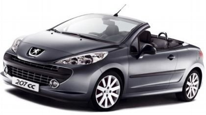 Peugeot 207 CC, las fotos oficiales