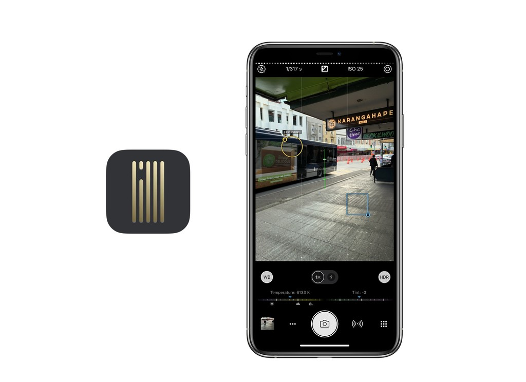 ProCamera es alguna de las app de foto mas completas que existen: manera noche, captura múltiple y decenas de funciones más