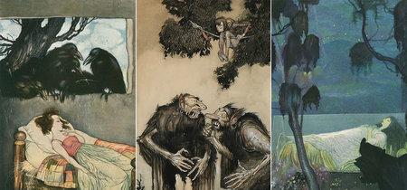 Las siniestras ilustraciones infantiles de Gustaf Tenggren, el dibujante detrás del Disney clásico