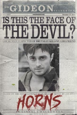 'Horns (Cuernos)', primer tráiler y cartel de la nueva pesadilla de Daniel Radcliffe