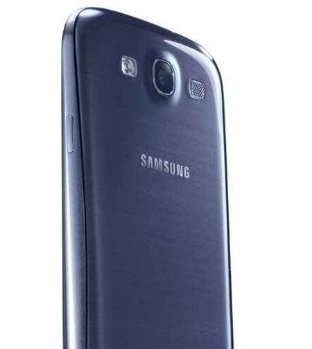 Samsung Galaxy SIII trasera