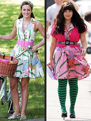 Vestido floreado: ¿Leighton Meester o America Ferrara?