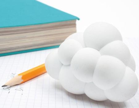 Cloud eraser: una nube de gomas de borrar